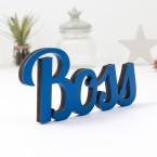 Dekoschriftzug Boss