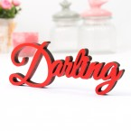 Dekoschriftzug Darling