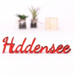 Dekoschriftzug Hiddensee