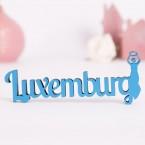 Dekoschriftzug Luxemburg