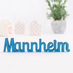 Dekoschriftzug Mannheim