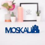 Dekoschriftzug Moskau