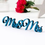 Dekoschriftzug Mr. & Mrs.