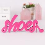 Dekoschriftzug Shoes