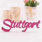 Dekoschriftzug Stuttgart
