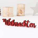 Dekoschriftzug Weihnachten
