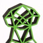 ORIGAMI 3D-Motiv Erdmännchen
