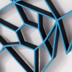 ORIGAMI 3D-Motiv Mops