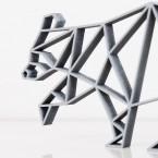 ORIGAMI 3D-Motiv Waschbär