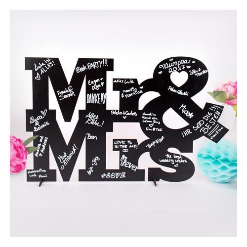 Gästebuch Mr und Mrs